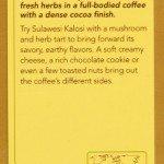 Sulawesi Kalosi Coffee Card