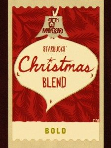 2009 Christmas Blend Coffee Stamp