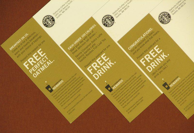 Steps to get Free Starbucks Rewards