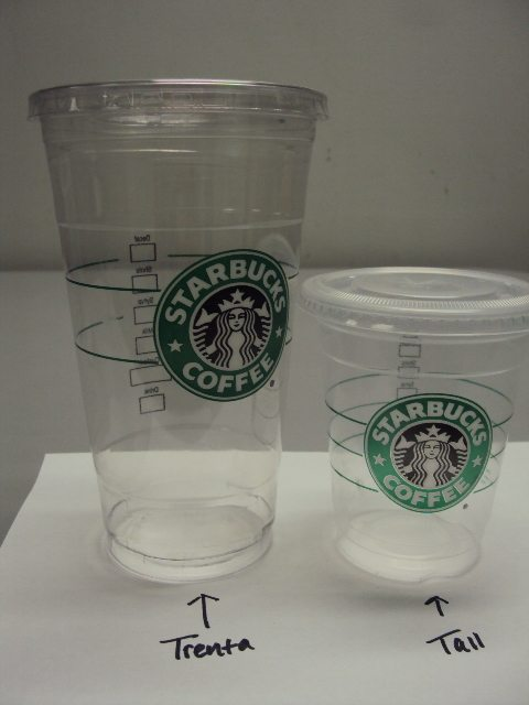 Starbucks Introduces A 31 Ounce Trenta Cold Drink Size On