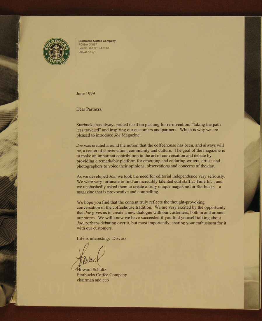 memo starbucks essay Starbucks financial analysis essay - starbucks financial analysis company one of his first moves was to send a memo to the top executives of starbucks that.