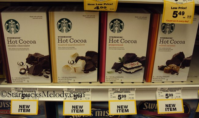 Something new from Starbucks: Hot Chocolate in grocery stores ...