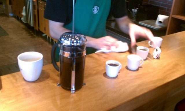Starbucks Colombia Coffee and Colombia Via: Taste and