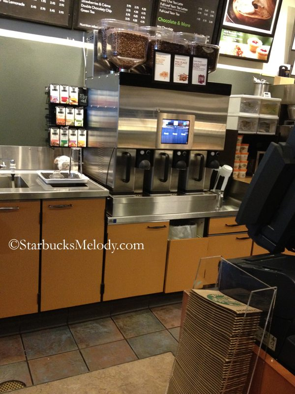 Starbucks Special Coffee Maker : No more coffee cadence at Starbucks: Another look at the test auto brewers. - StarbucksMelody.com