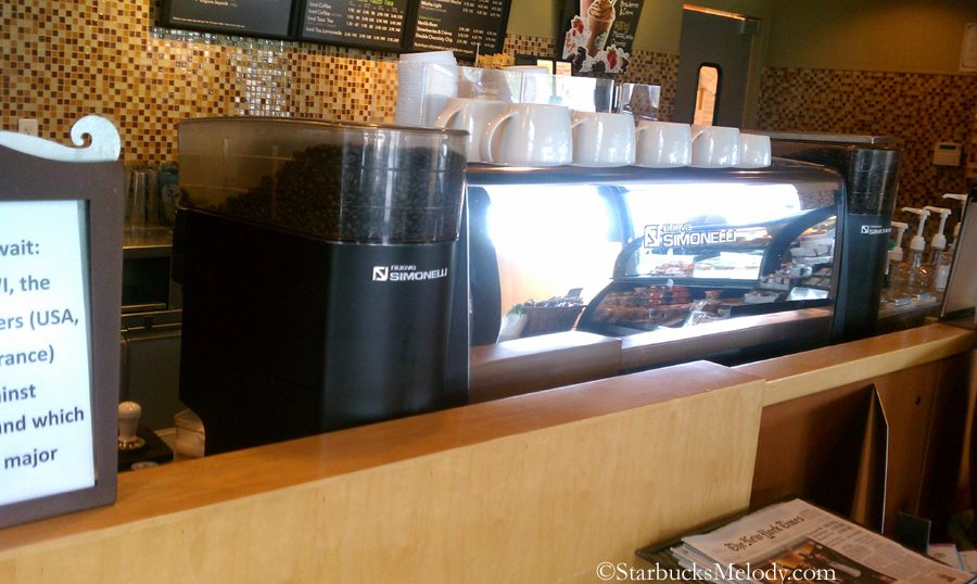 Can you name 3 Starbucks stores in the U.S. with a manual espresso machine? - StarbucksMelody.com