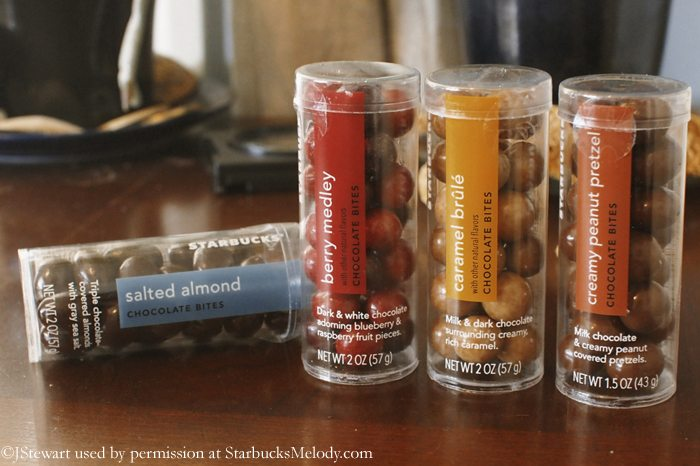 Starbucks Salted Almond Chocolate Bites