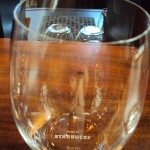 2 - 5 - 5277 Wine Glass Starbucks Riedel