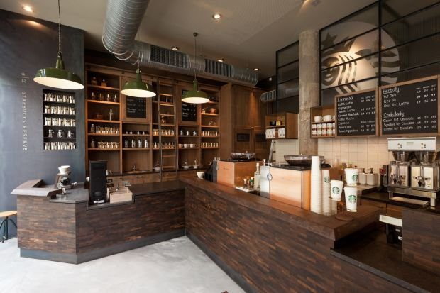 Starbucks Opens A Reserve Store In Poland