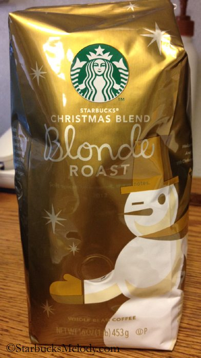 Starbucks Christmas Blend in a Blonde Roast - StarbucksMelody.com