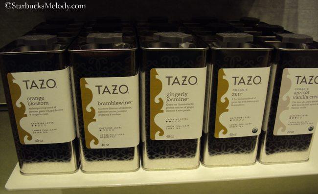 Tazo orange blossom tea