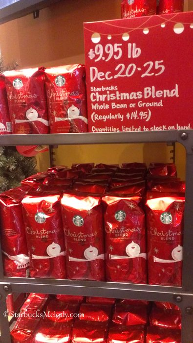 Christmas Blend goes on sale; Featured Starbucks barista art ...