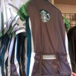 IMAG4022 Coffee gear store - cycling jersey Starbucks 22 Feb 2013