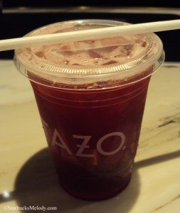 6534 Bramble wine sparkling iced tea from the Tazo Tea store 1 March 2013