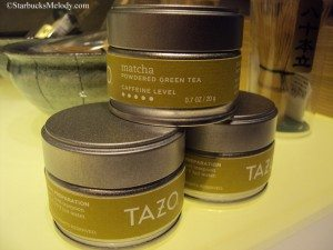 6538 Tazo brand powdered matcha 1 March 2013