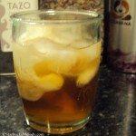 6747 Chocolate Banana Fosters Iced Tea with milk