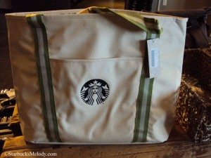 6754 Lovely Cape Cod Starbucks logo tote bag - Coffee Gear store 25March2013