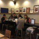 IMAG4228 Starbucks Peru Aladino tasting 16March2013 - everyone