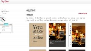 Red Stamp App Starbucks collections