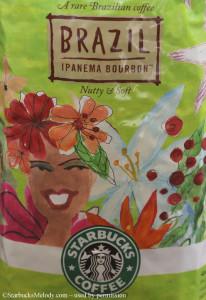 Front of Brazil Ipanema Bourbon - Starbucks