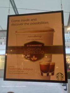 April 2013 Conduit Street Starbucks - Single Origin Launch Starbucks UK