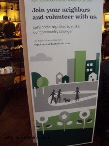 DSC06806 Community Service sign at Starbucks 01 April 2013