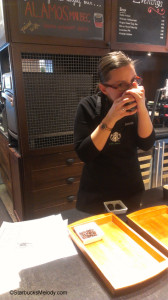 IMAG4769 Coffee tasting Tanzania 15 April 2013 Jess Starbucks