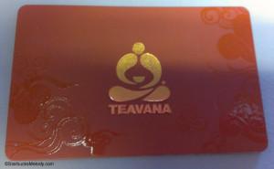 IMAG4842 Teavana Starbucks Card - Launched 22 April 2013