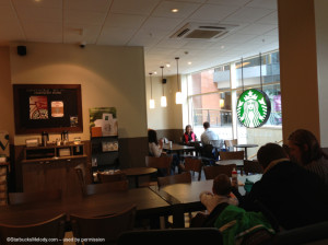 2 - 1 - Starbucks in Belfast Ireland May 2013 lobby