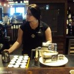 DSC06983 Danielle leading coffee tasting Burundi 20 May 2013