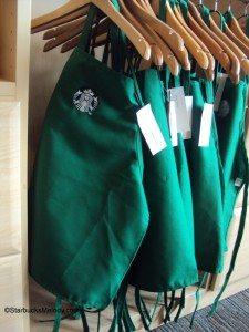 DSC07036 Children sized aprons at Starbucks Coffee Gear store
