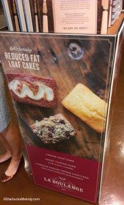 IMAG5080 Reduced Fat Loaf Cake signage SODO 8 Starbucks 10 May 2013
