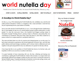 NuttelaDay.com screep cap May 21 2013