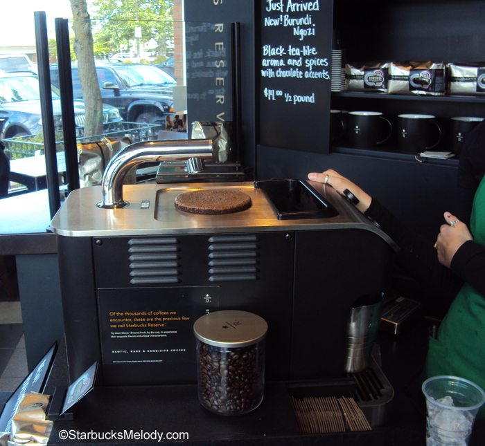 starbucks clover machine