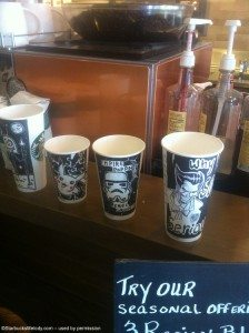 5-24-2013 137 - Joel Hall cups - Starbucks