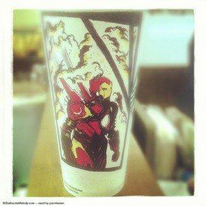 5-24-2013 211 Joel Hall Starbucks cups