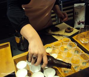 DSC07105 Olive Way Coffee tasting in progress