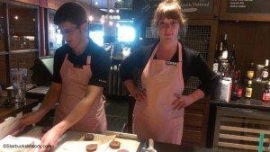 IMAG5313 Josh and Donna having fun Olive Way Starbucks