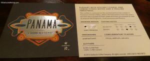 IMAG5501 Panama coffee info cards - Starbucks 17June2013