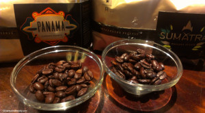 IMAG5537 New Starbucks Reserve Coffees Sumatra and Panama and their whole bean 17Jun2013
