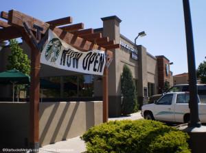 Exterior Prescott AZ Clover Starbucks