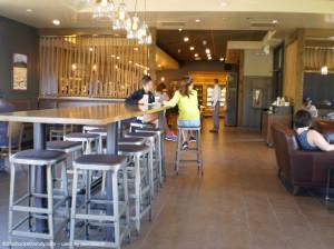 Lobby Prescott AZ Clover Starbucks