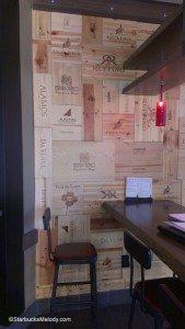 IMAG5721 Wine boxes far wall Rancho Santa Margarita Starbucks 25 June 2013