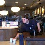IMAG5826 Brian at hand off Newport Beach Clover Starbucks 28June2013
