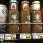 IMAG6277 Cold iced Starbucks coffee - QFC 20July2013