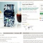 Kati Kati coffee information from StarbucksStore.com 7July2013
