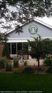 Lake Geneva Starbucks July 2013. - Exterior