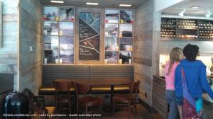 Lake Geneva Starbucks seating area July 2013