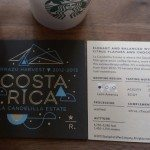IMAG6501 Descriptive cards for the Costa Rica Reserve coffee