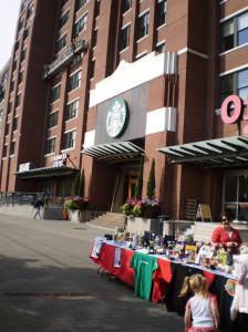 Silent Auction at Starbucks Pet Fair