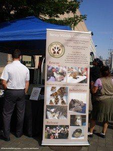 Sign for Sarvey Wildlife Care Center